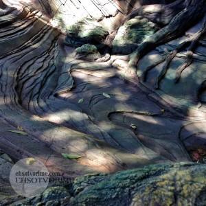 Искусственный водоем из арт бетона.
